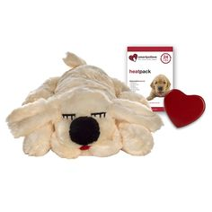 Smart Pet Love Golden Snuggle Puppy Behavioral Aid Toy | NaturalPetWarehouse.com