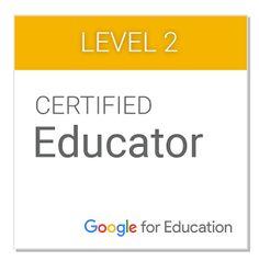 Level 2 Certified Google Educator