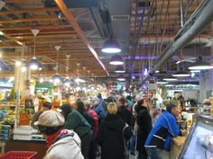 My favorite hang out in Philly: Reading Terminal Market in Philadelphia. If I were to choke and die there, I would die happy.