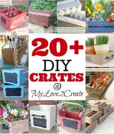 20+ DIY Crates