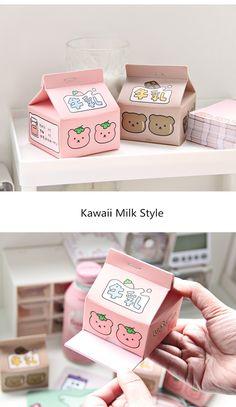 Stationery Shop, Kawaii Stationery, Memo Notepad, Kawaii Bunny, Cute Strawberry, Kawaii Stickers, Note Paper, Pink Aesthetic, Cute Drawings
