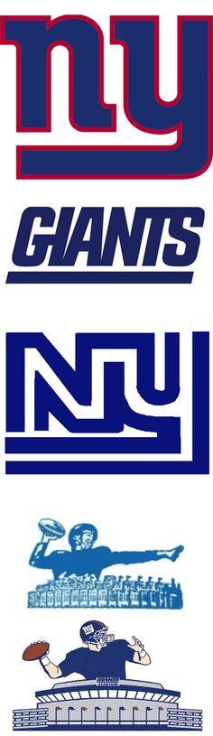 NY Giants Team Logos #nyg