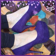 Dance Gorgeous suede type sky high beauties to dance 2016 in with a bang!. The color divine, the look killer, the heel yowza!. Never worn except for posh new condition so pretty and super fashionista!. Gosh love these 51/2 inch babies!. Charlotte Russe Shoes Heels
