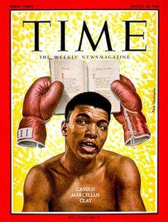 1963-03 Cassius Clay, Muhammad Ali