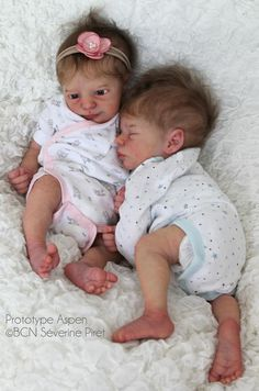 Made to Order Reborn Baby Twins