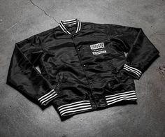 """1,649 Likes, 4 Comments - Sneaker Freaker (@sneakerfreakermag) on Instagram: """"A closer look at the @sneakerfreakermag x @gshockoz x @athingthing varsity jacket that's part of…"""""""