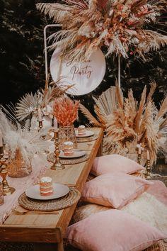 Backyard Birthday, Backyard Picnic, Picnic Birthday, Birthday Party Decorations, Wedding Decorations, Bridal Shower Decorations, Lila Party, Boho Garden Party, Picnic Set