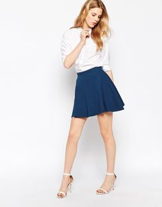 Vila Jersey Mini Skirt