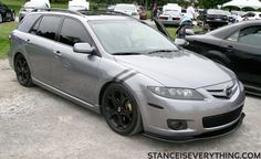 lowered+mazda+6+Wagon   Stance Is Everything - Lost Coverage: Meeting of the Mazdas 2011