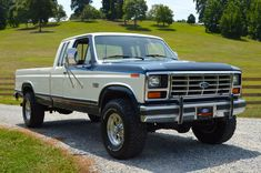 Bid for the chance to own a 1986 Ford XLT Lariat SuperCab at auction with Bring a Trailer, the home of the best vintage and classic cars online. Classic Ford Trucks, Ford Pickup Trucks, 4x4 Trucks, Ford 4x4, Diesel Trucks, Cool Trucks, Pickup Camper, Chevrolet Trucks, Ford Bronco