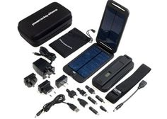 PowerTraveller Powermonkey EXTREME 12V Solar Battery Charger  (Such a good idea!)