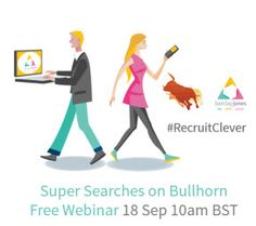 Are you getting the most out of your Bullhorn searches? Does Boolean searching get you in a tizz?  Is sourcing talent using a major part of your role?  Bullhorn International and Barclay Jones have got just the webinar for you lovely recruiters.