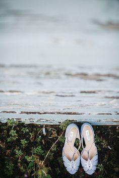 Peep Toe Heels Shoes Bride Bridal Rachel Simpson Mint Green Natural Wedding https://www.kerrywoodsphotography.com/