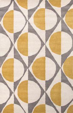 Jaipur Rugs En Casa By Luli Sanchez Half Dot Lst13 Medium Gray-White Area Rug
