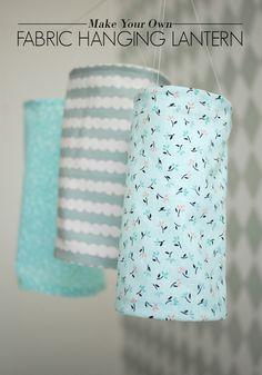 DIY Fabric Hanging Lantern   AO at Home Blog