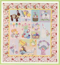 Easter Wishes  Heirloom Quilt Pattern  Verna by agardenofroses, $24.00