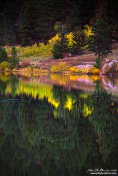 Fall Reflections, Rocky Mountain National Park, Colorado, USA.