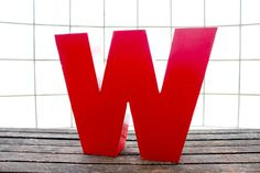 Letter W now featured on Fab. Typography, Lettering, Tech Accessories, Sweet Home, Handmade Gifts, Nice Things, Etsy, Evolution, Design