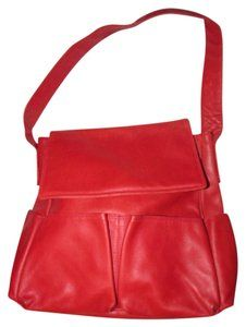 0ce70ae4cc5a Bottega Veneta Mint Condition Has Dust Perfect Red Purse Multiple Pockets  Roomy Everyday Satchel in textured true red  leather