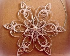 simple pretty snowflake
