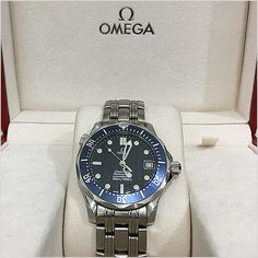 Excellent Omega watch, I love it! Omega Seamaster Professional, Omega Watch, Rolex Watches, Shopping, Accessories, Ornament
