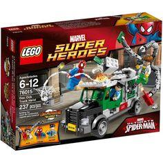 Đồ chơi LEGO 76015 Spider Man: Doc Ock Truck Heist – Doc Ock cướp xe chở tiền