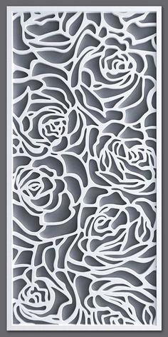 models: Other decorative objects - Decorative partition Laser Cut Screens, Laser Cut Panels, Laser Art, 3d Laser, Stencil Patterns, Stencil Art, Jaali Design, Cnc Cutting Design, Room Partition Designs