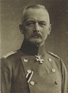 General Erich von Falkenhayn