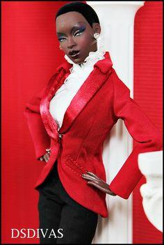 .What a gorgeous black Barbie.