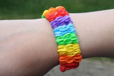 Rainbow Loom Nederlands, Shuffle armband