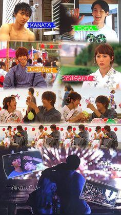 """ep.5  Shohei Miura x Mirei Kiritani x Kento Yamazaki x Shuhei Nomura, J drama """"Sukina hito ga iru koto (A girl & 3 sweethearts)"""", Aug/08/16"""