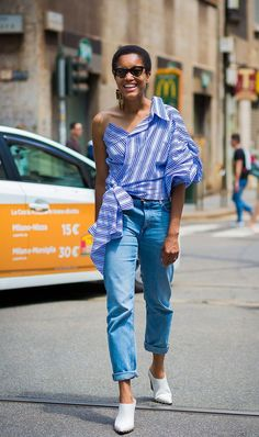 7 Standout Outfit Combinations Inspired by Street Style via @WhoWhatWear