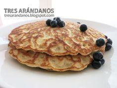 Tres Arándanos: Crepes de arroz y mijo (receta sin gluten)