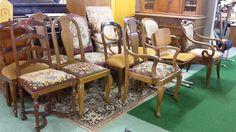 Antique Stühle bei HIOB Langenthal  #Schnäppchen #Trouvaille