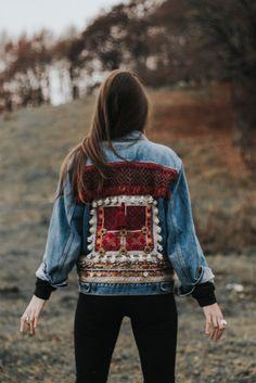 www.artemisia.me  #boho #embellished #denim #jacket
