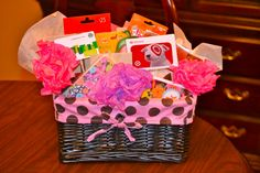 Gift card basket for teacher appreciation