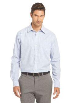Van Heusen  Big  Tall Wrinkle Free Traveler No Iron Dress Shirt