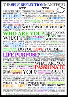 Not a personal manifesto but a manifesto about self reflection, Read it and use it as inspiration and motivation to go after your dreams and gyst. Journal Prompts, Writing Prompts, Journal Ideas, Sentence Prompts, Creative Journal, This Is Your Life, Out Of Touch, Happiness, Smash Book