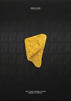 Hidden Persuasion Icon. Double Speak - Doritos Cool American
