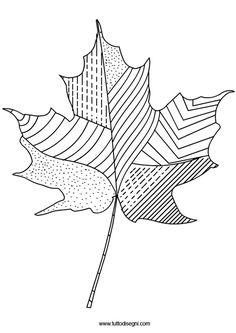 Fall Coloring Pages eBook Maple