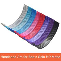 Replacement Headphone Parts Headband Arc for Beats Solo HD Matte Headphones Helmets Plastic Shell