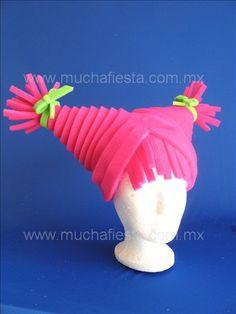 Sombrero rosa neon