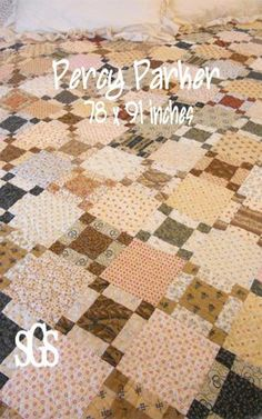 Old Quilts, Antique Quilts, Scrappy Quilts, Small Quilts, Easy Quilts, Patchwork Quilting, Amish Quilts, Vintage Quilts Patterns, Sewing Patterns