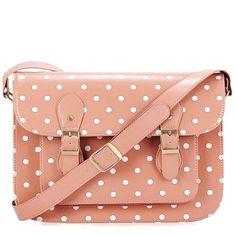 Dots Light Pink Oxford - Torebki Codzienne - Torebki damskie - FLEQ.PL