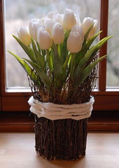 Jarní inspirace - Kolekce uživatelky margot_ka | Modrastrecha.cz Easter Flower Arrangements, Easter Flowers, Clay Flowers, Floral Arrangements, Spring Projects, Easter Projects, Floral Foam, Arte Floral, Diy Easter Decorations