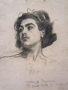 Sargent - Drawing, Crescenzo Fusciardi, ca. 1890-1915