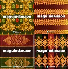Know our traditional woven fabrics, so you don't accidentally wear a sacred death blanket. Filipino Art, Filipino Tribal, Filipino Culture, Philippines Outfit, Philippines Culture, Philippine Mythology, Philippine Art, Weaving Designs, Weaving Patterns