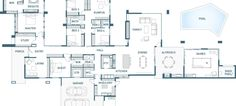 Floor Plan Friday: 5 bedroom, luxury with wings