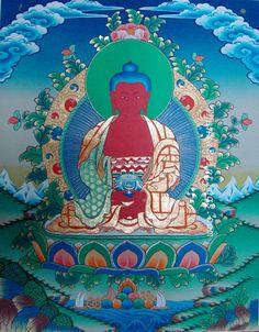Amitabha Buddha Thanka
