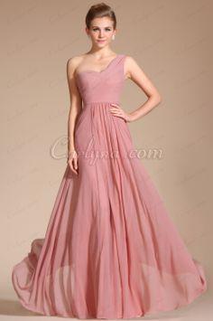 Carlyna 2014 New Amazing Stylish One Strap Evening Dress Bridesmaid Dress